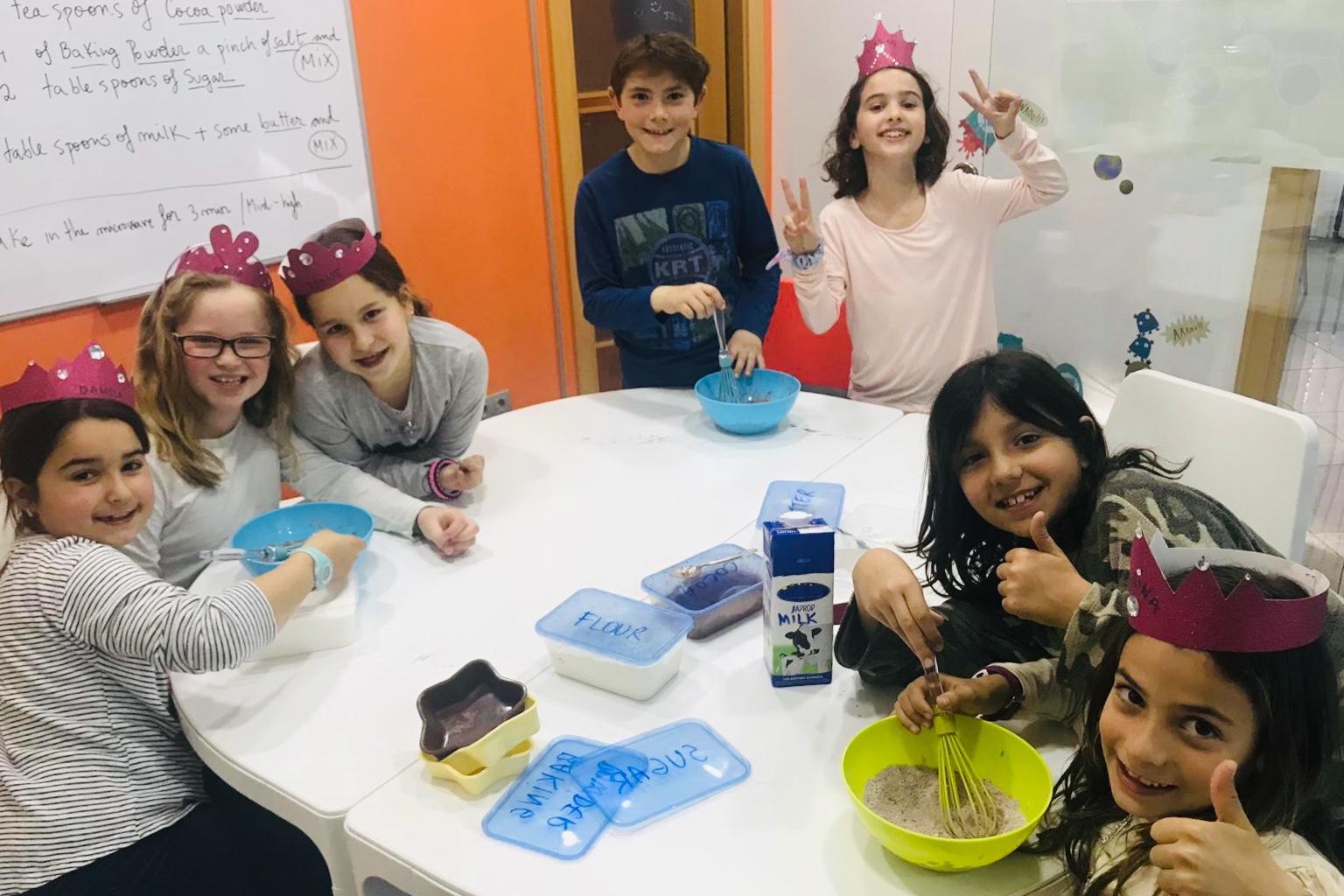 'Exploring Creativity' amb els petits xefs